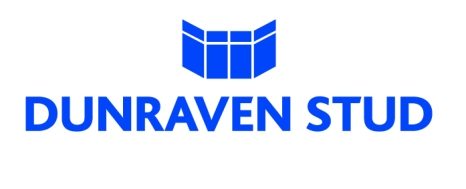 dunraven 2010 - blue on white logo